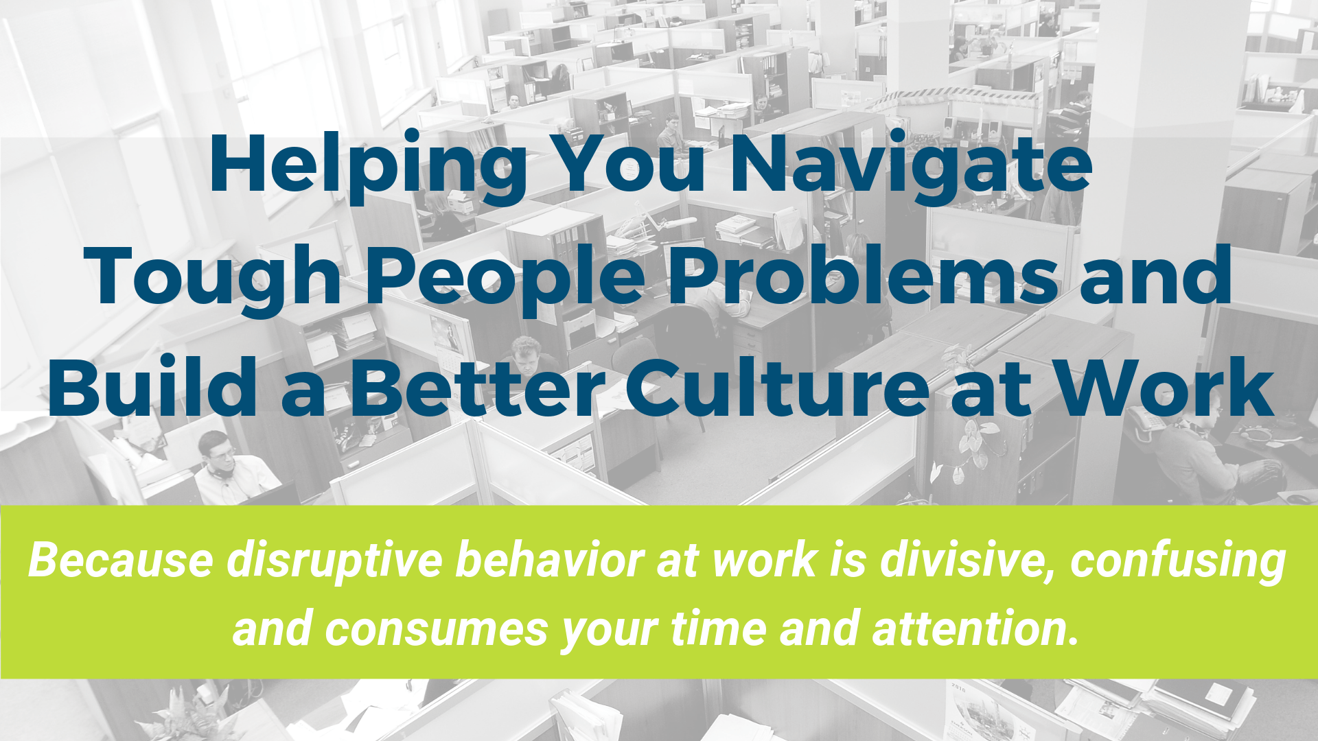 Build a Better Culture